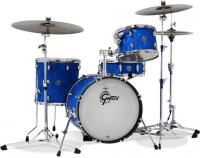 Gretsch Catalina Club Jazz LTD 2018 - 3 fûts - Blue satin flame