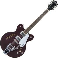 Guitare électrique hollow body Gretsch G5622T Electromatic Center Block Double-Cut with Bigsby 2019 - Dark Cherry Metallic
