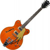 Guitare électrique hollow body Gretsch G5622T Electromatic Center Block Double-Cut with Bigsby 2019 - orange stain