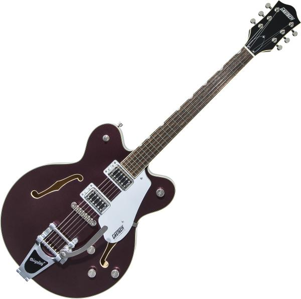 Guitare électrique 1/2 caisse Gretsch G5622T Electromatic Center Block Double-Cut with Bigsby 2019 - Dark cherry metallic