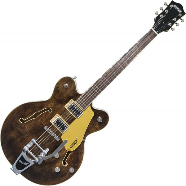 Guitare électrique 1/2 caisse Gretsch G5622T Electromatic Center Block Double-Cut with Bigsby 2019 - Imperial stain