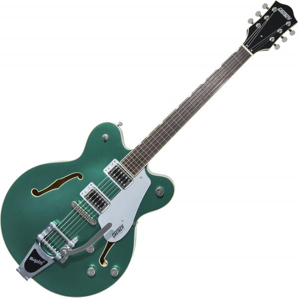 Guitare électrique 1/2 caisse Gretsch G5622T Electromatic Center Block Double-Cut with Bigsby 2019 - Georgia green