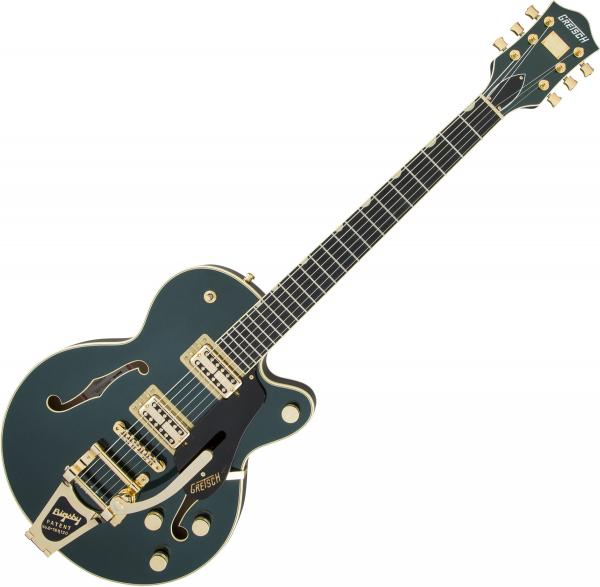 Guitare électrique 1/2 caisse Gretsch G6659TG Players Edition Broadkaster Jr. Nashville Professional Japan - Cadillac green