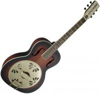 G9241 Alligator Biscuit Round-neck Resonator Fishman - 2-color sunburst
