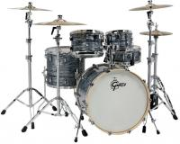 Batterie acoustique stage Gretsch Renown Maple Stage 22 - 4 fûts - Silver oyster pearl