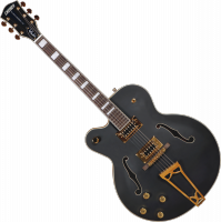 Tim Armstrong G5191BK Electromatic Hollow Body Left-Handed - Black matte