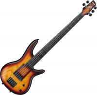 Basse électrique solid body Ibanez Gary Willis GWB20TH 01 TQF - Tequila sunrise flat
