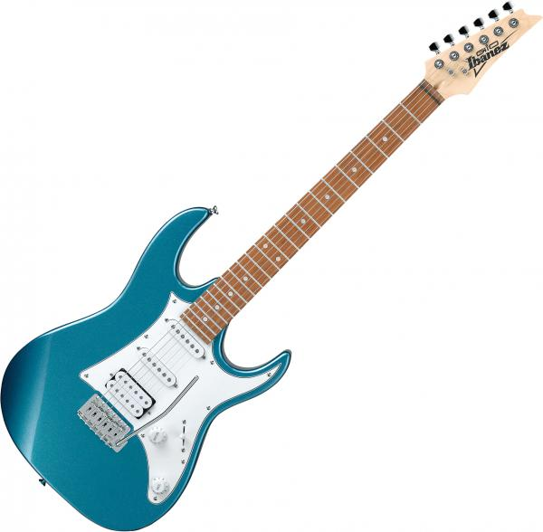 Guitare électrique solid body Ibanez GRX40 MLB GIO - Metallic light blue