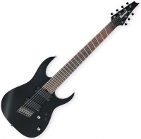Guitare électrique enfant Ibanez RGIM7MH WK Iron Label - Weathered black
