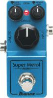 Pédale overdrive / distortion / fuzz Ibanez SMMINI Super Metal Mini