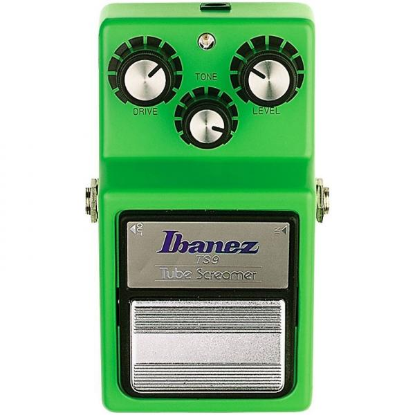 Pédale overdrive / distortion / fuzz Ibanez Tube Screamer TS9