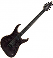 Guitare électrique solid body Jackson Artist Signature Chris Broderick Soloist 6 - Transparent black