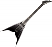 Guitare électrique solid body Jackson Phil Demmel Demmelition King V Pro - Black tide fade