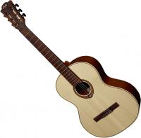 Guitare classique format 4/4 Lag Occitania OCL70 Gaucher - Natural satin