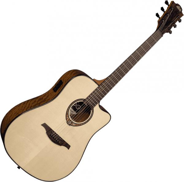 Guitare folk & electro Lag Tramontane T318DCE - Natural
