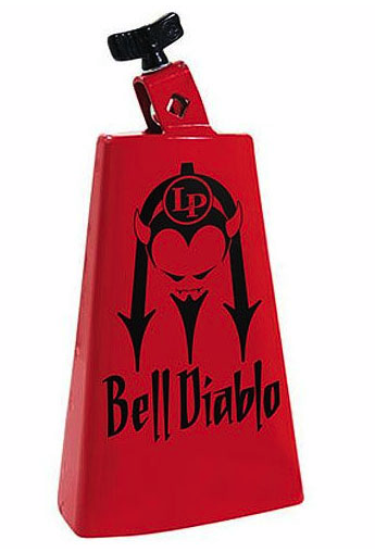 Cloche Latin percussion LP007-BD Bell Diablo