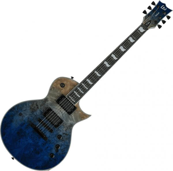 Guitare électrique solid body Ltd EC-1000 - Blue natural fade