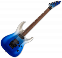 Guitare électrique solid body Ltd MH-400FR - Blue pearl fade metallic