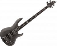 Basse électrique solid body Ltd B-204SM - Noir transparent satiné