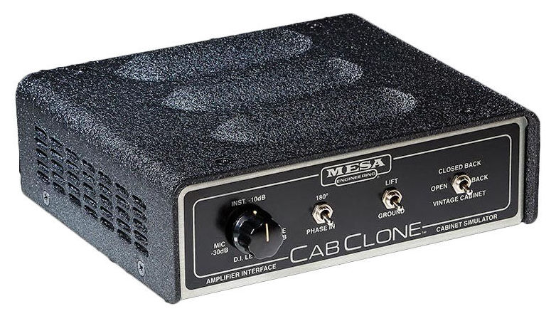 mesa boogie cabclone 8 ohms passive guitar cabinet simulator boitier direct di. Black Bedroom Furniture Sets. Home Design Ideas