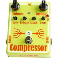 Pédale compression / sustain / noise gate  Mi audio Compressor