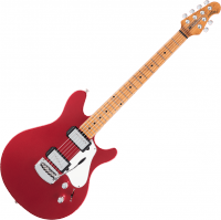 Guitare électrique solid body Music man James Valentine Tremolo Signature (MN) - Husker red