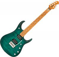 Guitare électrique solid body Music man John Petrucci JP15 - Teal flame