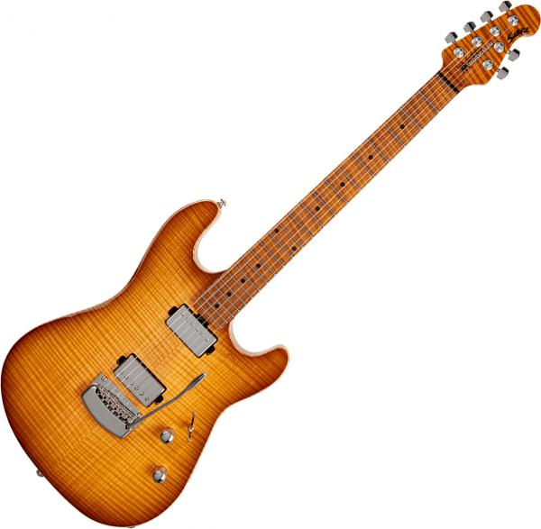 Guitare électrique solid body Music man Sabre (USA, MN) - Honey suckle