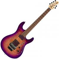Guitare électrique solid body Music man Steve Morse Y2D Trem - Purple sunset