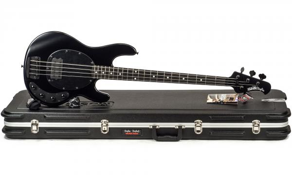 Solidbody E Bass Music Man Stringray H 3eq Eb Stealth Black