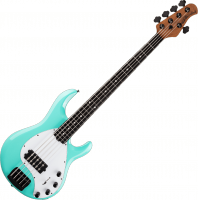 Basse électrique solid body Music man StingRay5 Special 2019 (H, EB) - Cruz teal