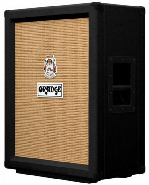 Baffle ampli guitare électrique Orange PPC212V Guitar Cab - Black