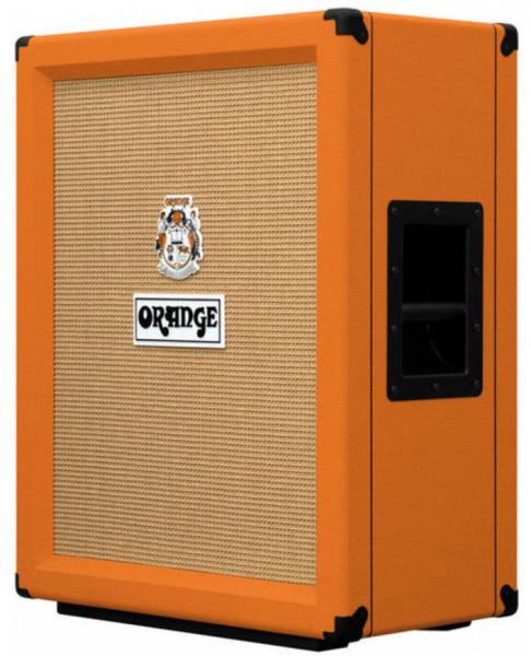 Baffle ampli guitare électrique Orange PPC212V Guitar Cab - Orange