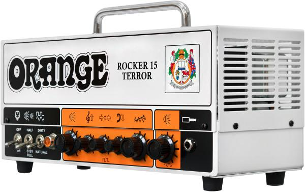Tête ampli guitare électrique Orange Rocker 15 Terror Head