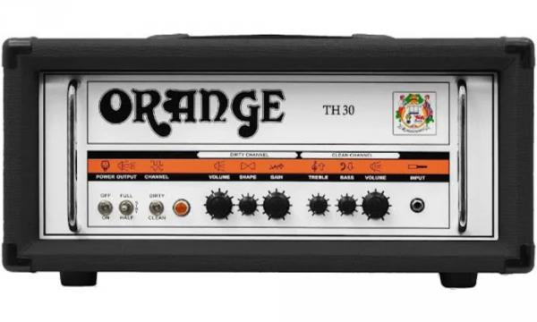 Tête ampli guitare électrique Orange TH30H Head - Black