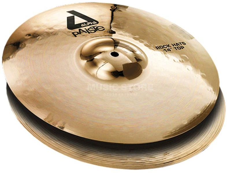 8125d4703788 Paiste Alpha Brilliant Rock Hi Hat - 14 inches Hihat cymbal ...