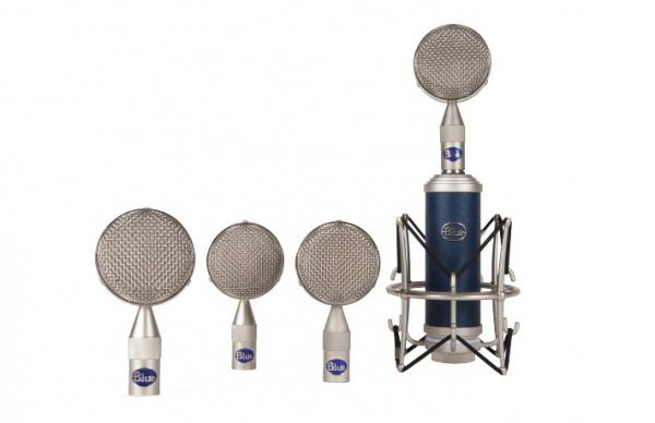 Micro studio & scène xlr Blue Bottle Rocket Mic Locker