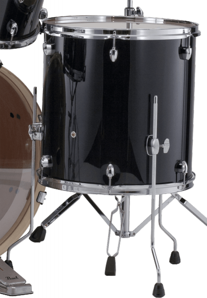Tom a l'unite Pearl Export Floor Tom 14 - Jet black