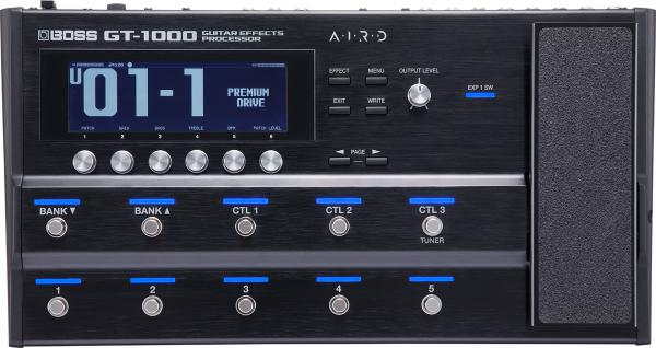 Multi effet guitare élec. en pédalier Boss GT-1000 Guitar Effects Processor