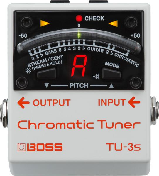 Accordeur en pedale Boss TU-3S Chromatic Tuner