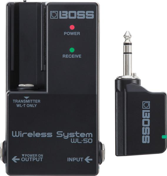 Micro hf instruments Boss WL-50 Wireless Guitar System for Pedalboard