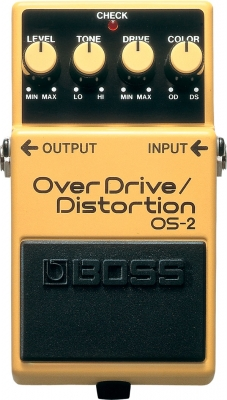 Pédale overdrive / distortion / fuzz Boss OS-2 Overdrive Distortion