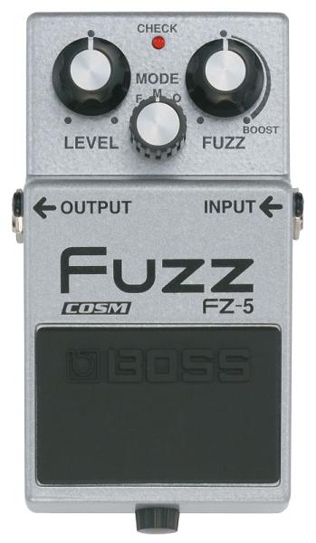 Pédale overdrive / distortion / fuzz Boss FZ-5 Fuzz
