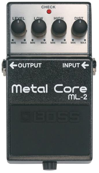 Pédale overdrive / distortion / fuzz Boss ML-2 Metal Core