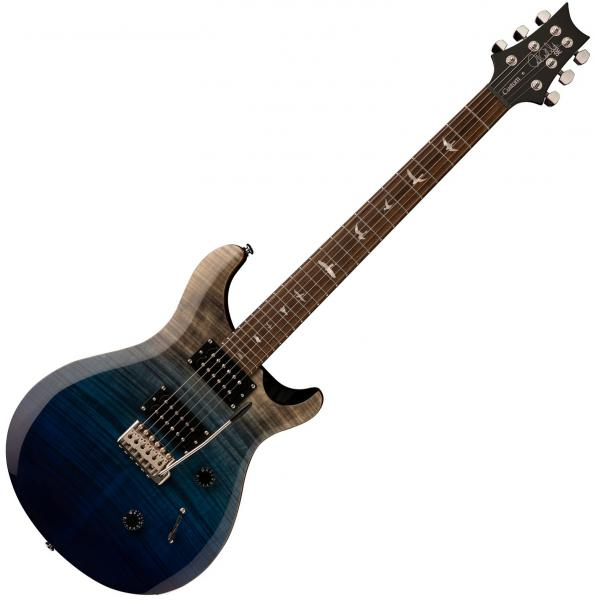Guitare électrique solid body Prs SE Custom 24 Ltd 2020 - Charcoal blue fade