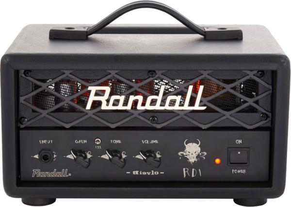 Randall Diavlo RD1H Electric guitar amp head - Pourlesmusiciens com