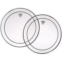 Pinstripe Clear Tom/Snare - 6 pouces et -