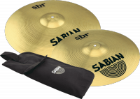 Pack cymbales Sabian SBR50061 Crash Pack + housse