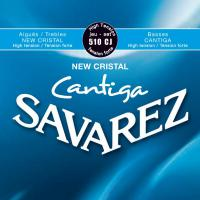 Cordes guitare classique nylon Savarez 510CJ  Cantiga High Tension - Jeu de cordes