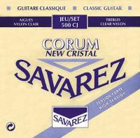 Cordes guitare classique nylon Savarez New Cristal Corum High Tension 500CJ - Jeu de cordes